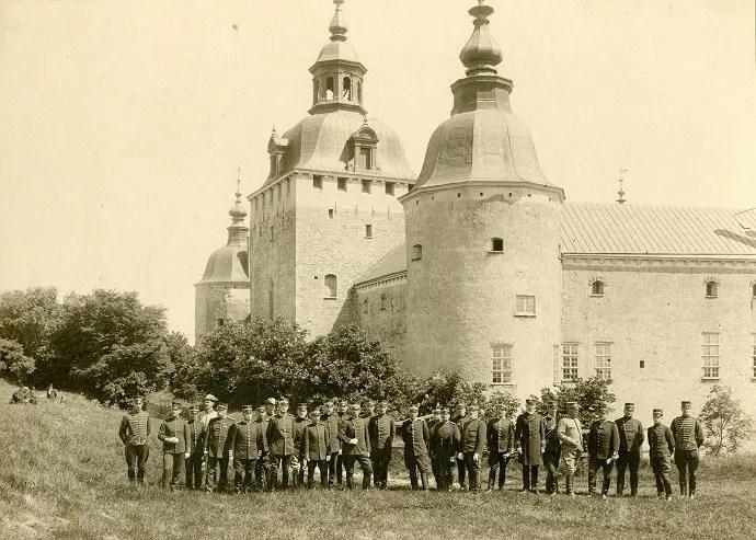 Svea y Pablo - Kalmar slott en 1921