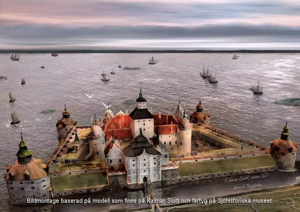 Svea y Pablo - Kalmar slott en 1611