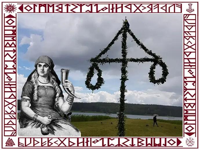 Svea y Pablo - La fiesta de midsommar con la diosa Sift