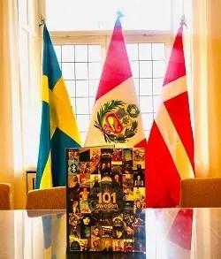 Svea y Pablo - 101 Sweden - Maravillas de Suecia en la embajada de Peru en Suecia