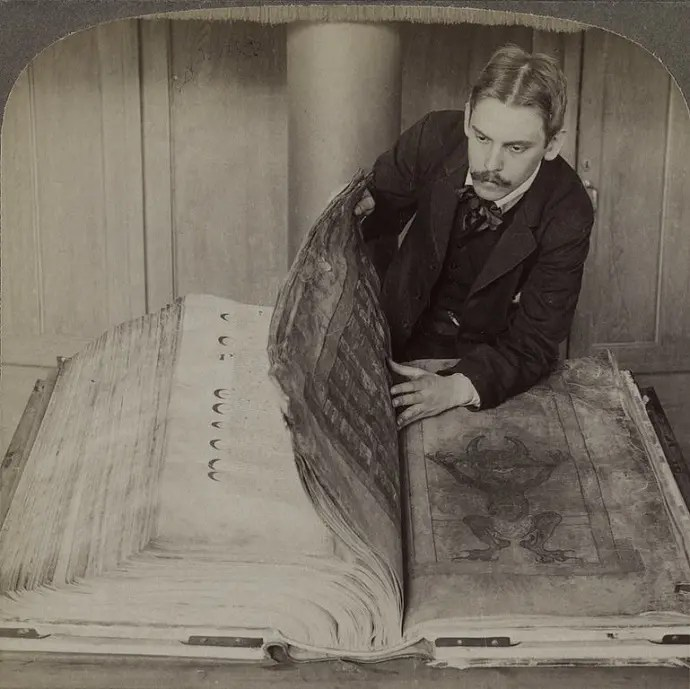 Svea y Pablo Codex Gigas