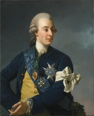Svea y Pablo - Gustav III de Suecia