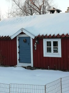 Detalles en casa antigua de Skäppevik