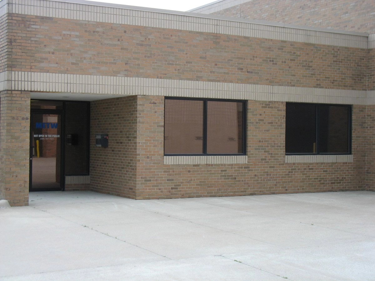 Commercial Window Tinting - office front