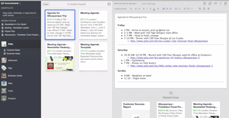 evernote-example-screenshot-web-based-note-taking-app-solution-ipad-iphone-android-pc