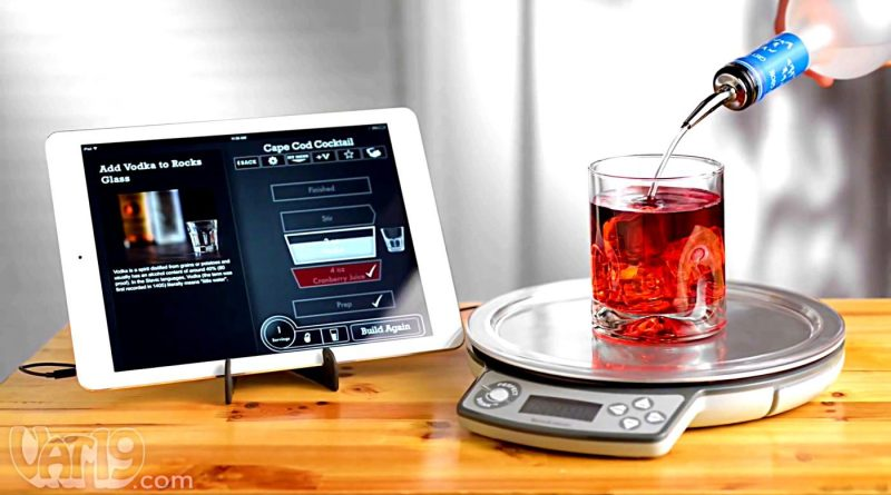 Perfect drink gadget for pinpoint accuracy in mixology for Perfect drink smart scale and app