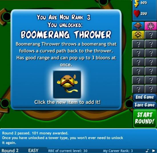 7. Bloons Tower Defense 4
