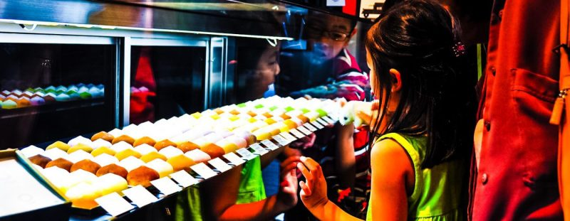 Ame-Otoko-Japanese-Girl-Asian-Family-Shopping-Candy-Mochi-Boy-Mother-Japan-Tokyo-Food