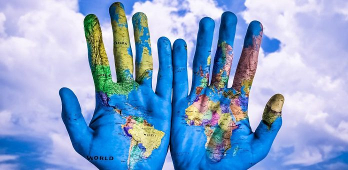 World-Hands-Tattoo-Sky-Strategy-Map-Marketing-Content-Guide