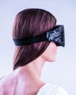 Neuroon Wearable Tech Visor Sleeping Woman Wearing Rear View Face-small