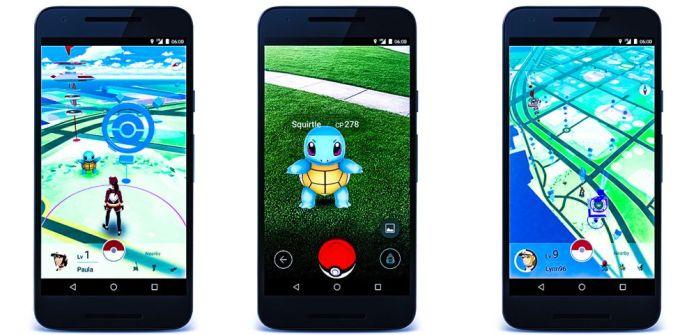 Pokemon GO App Game Screenshots Iphone