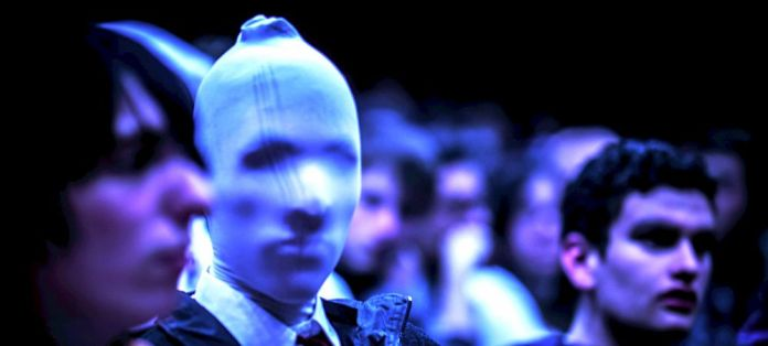 Masked Man Crowd Community Blogging Building Managment Relationship Feedback Writing Author Writer PS
