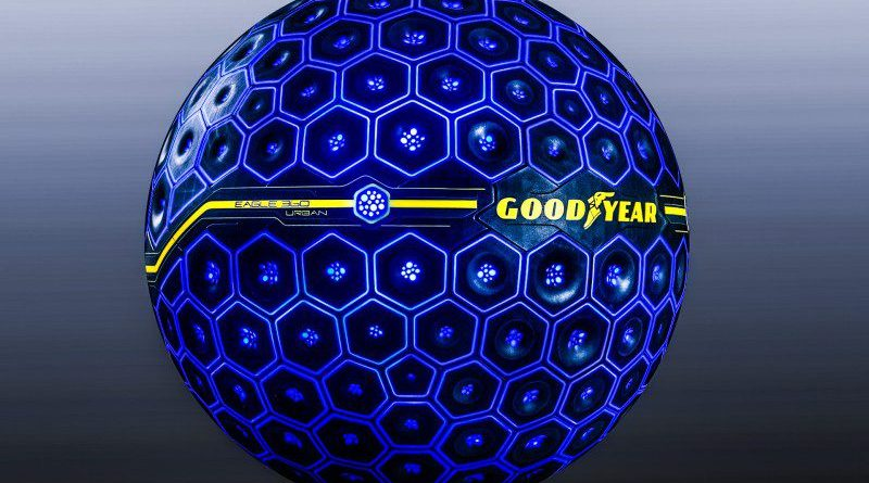 Goodyear Shows off Eagle 360 Urban Sphere for Autonomous Vehicles AI Self Driving Cars Tires Concept Design Future Transportation