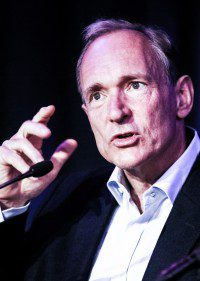 Sir Tim Berners-Lee TimBL English computer scientist working in Switzerland at CERN Nowadays Recent Photo Event