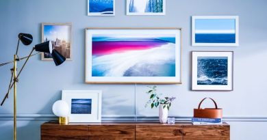 """Samsung's """"The Frame"""" Display Wants to Blend in with Your Art Collection"""