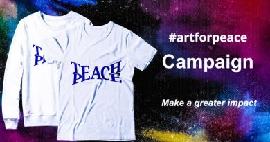 You Can Support Freedom of Expression Today with #artforpeace