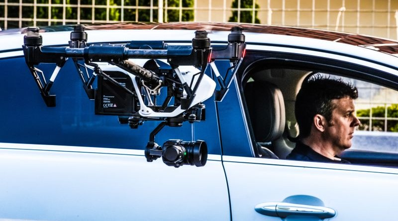 Jaguar Drone Race Inside Car Moving Driving Direction Experiment Practice Test Video Action Labs