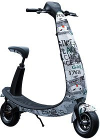 Ojo Electric Scooter City Art Design