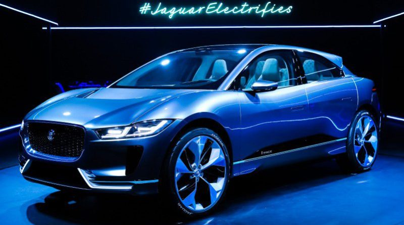 JAGUAR CHARGES AHEAD WITH ALL-NEW ELECTRIC I-PACE ALEXA AI SKILLS NEW CAR CROP