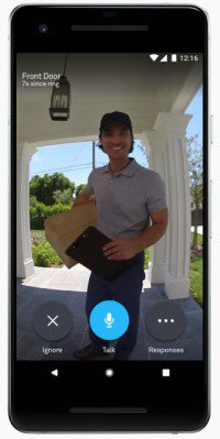 Nest Hello Video Doorbell App Screenshot