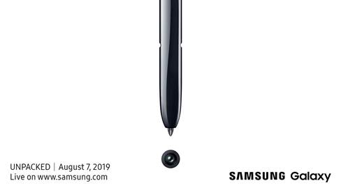Samsung confirmed the date of your next Unpacked: new Galaxy Note 10 5