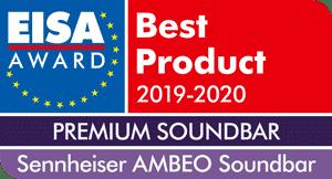 Sennheiser's AMBEO Soundbar receives the EISA Award 5