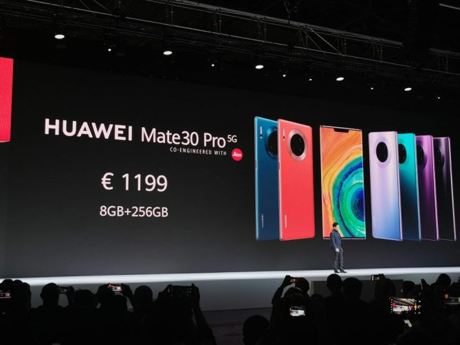 Huawei announces the Mate 30 and the Mate 30 Pro with amazing cameras 10