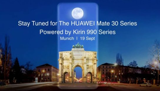 Huawei reveals World's First Flagship 5G SoC that will power HUAWEI Mate 30 Series 8
