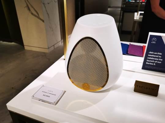 Linn launches the world's best sounding wireless speaker at Harrods 12