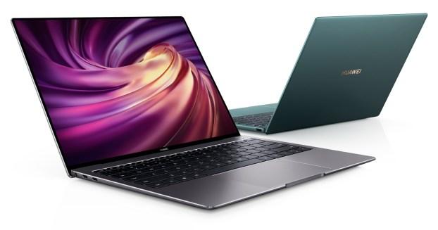 Huawei MateBook X Pro (2020) Emerald Green launches in the UK 3