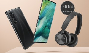 OPPO Find X2 Pro with BO Beoplay H8i