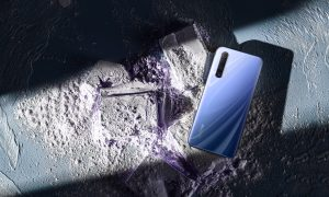 realme X50 Ice Silver scaled