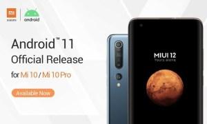 Mi 10 mi 10 pro android 11