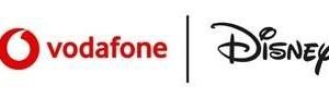 Vodafone Disney logo