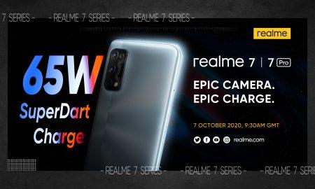 realme 7 series launch invitation
