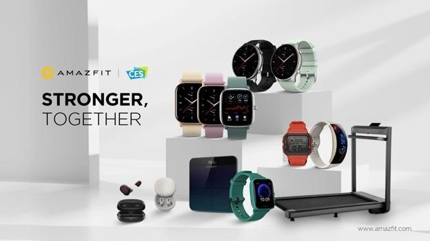 Amazfit CES 2021 collection