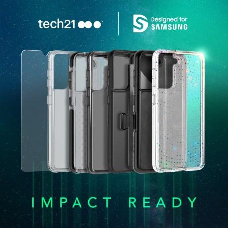 tech21 Galaxy S21 Impact Ready