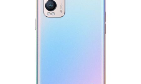 OPPO Find X3 Neo Galactic Silver Back