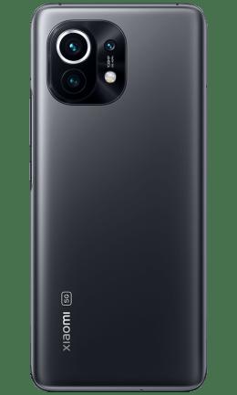Xiaomi Mi 11 5G midnight gray full product back 600