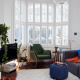 Active Heating View Motion Sensor Hub 360 Light Bulb Light E14 Google Home Living Room Product In situ Shot Copy