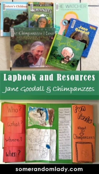 Jane Goodall and Chimpanzee Unit Study