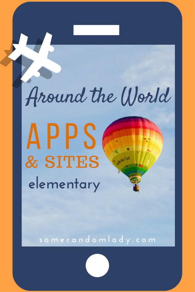 Around the World geography apps and sites to supplment and enrich your elementary geography lesson plans.