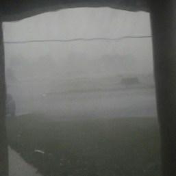Eye of Hurricane Irma