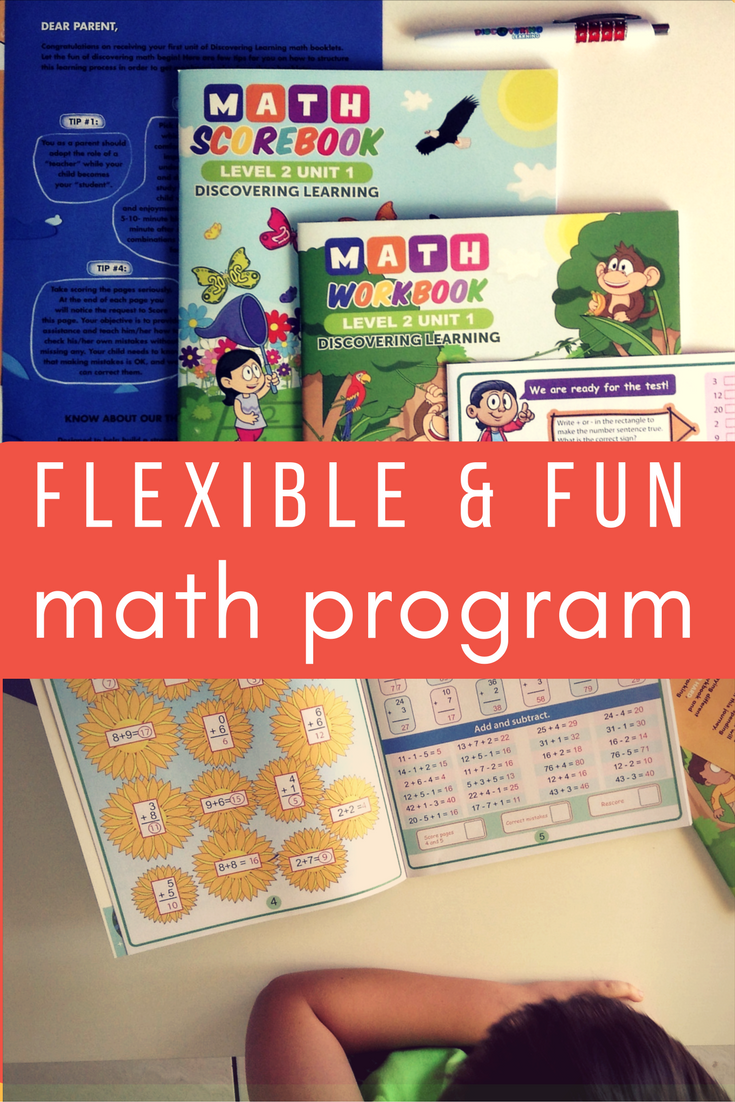 Flexible and fun math subscription program by Discovering Learning delivers engaging and educational booklets to your door each month.