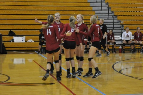 Lambert Volleyball cruises to first round victory