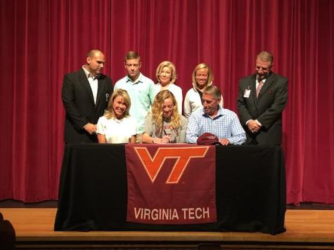 Morgan Berman, lcrosse, signs with Virginia Tech