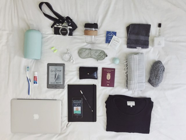 What I pack in my carry on for a long flight