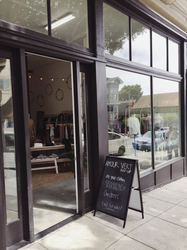 Eco Fashion Shopping: Amour Vert, San Francisco