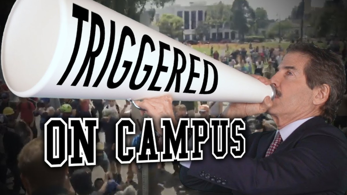 No Free Speech at College