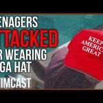 Teens Attacked For Wearing MAGA Hat / Is This a Trend?